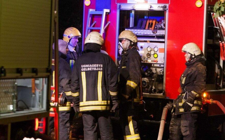 После пожара хозяйку дома нашли в петле