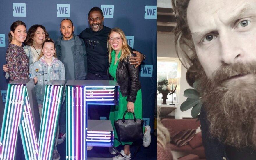 Idris Elba, Sophie Trudeau ir Kristoferis Hivju