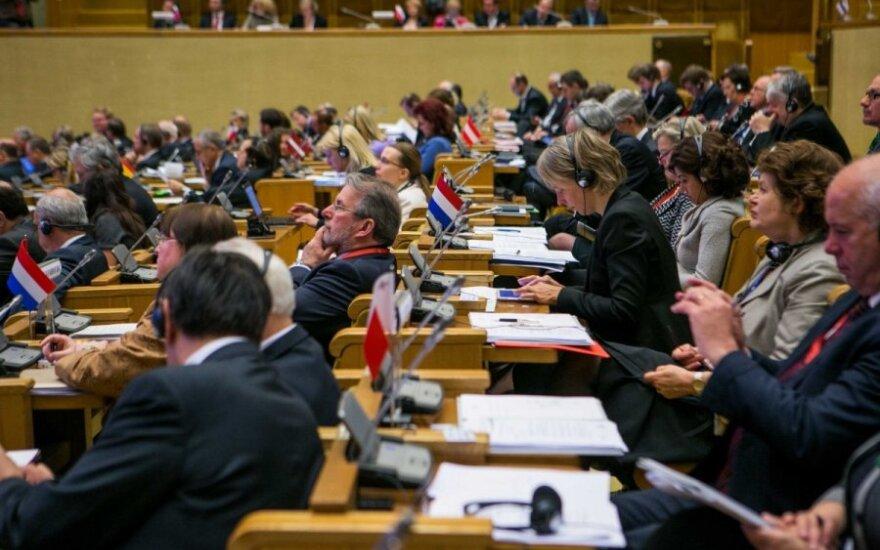 Главы парламентов ЕС в Вильнюсе осудили действия России в Украине