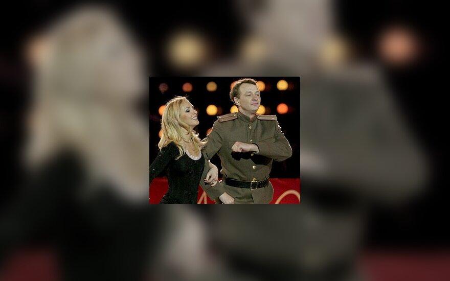 Татьяна Навка, Марат Башаров. Фото: Дни.Ру