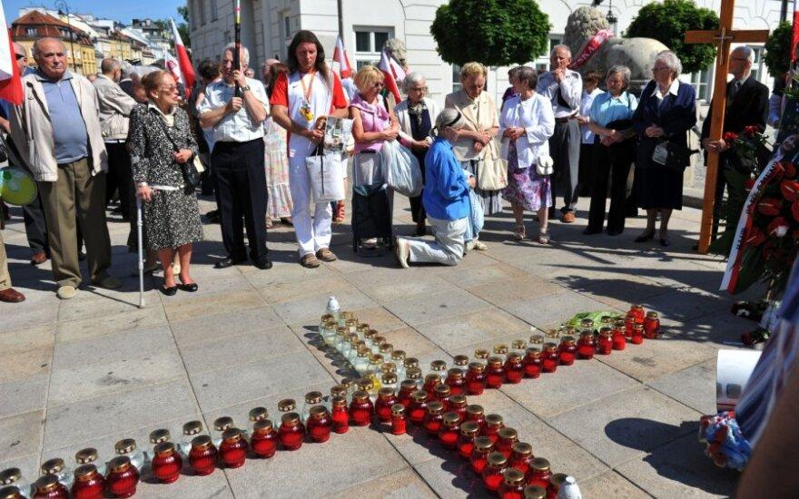 Pagerbtos Smolensko katastrofos aukos