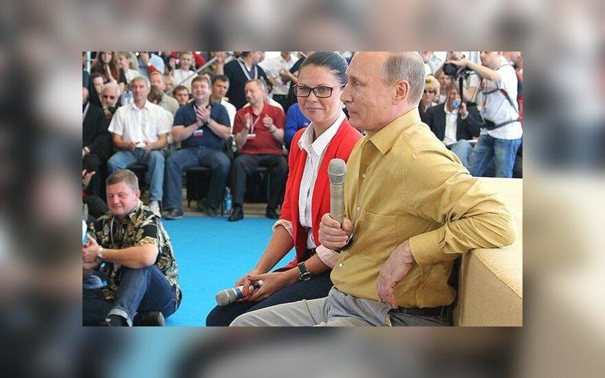 Путина на Селигере не посмели спросить про развод