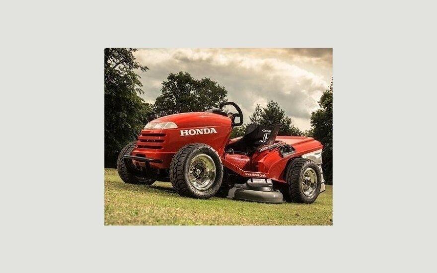 """Honda научила газонокосилку набирать """"сотню"""" за четыре секунды"""