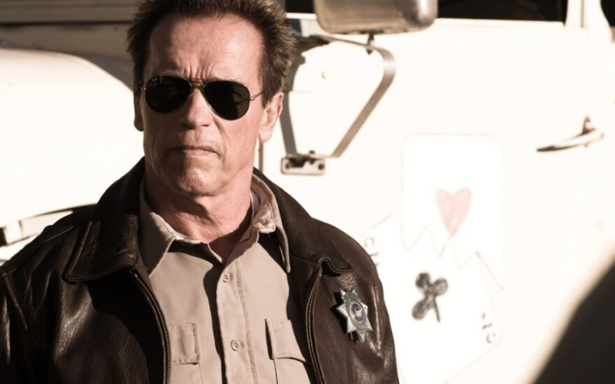"""Arnoldas Schwarzeneggeris filme """"Paskutinė tvirtovė"""""""