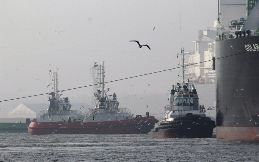 В Клайпеду прибыло второе судно Shell с газом