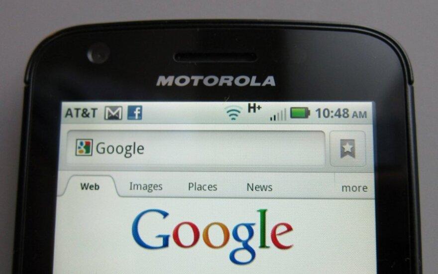"""Google"" ir ""Motorola"""