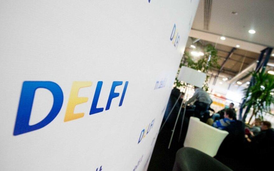 Посещаемость литовского портала DELFI достигла рекордных высот