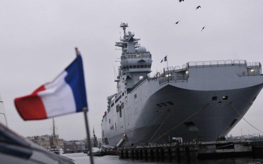 """Франция назвала сумму отступных для России за непоставку """"Мистралей"""""""