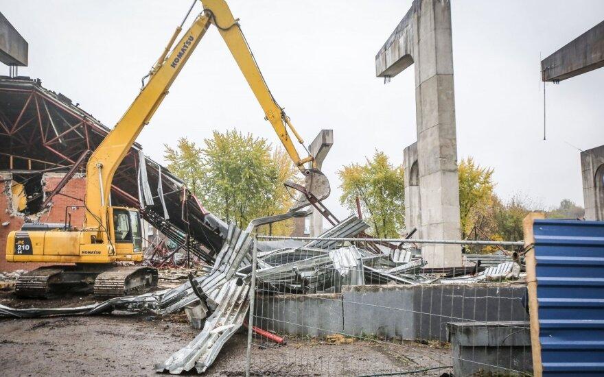 В Вильнюсе вместо Театральной арены построят роскошные апартаменты