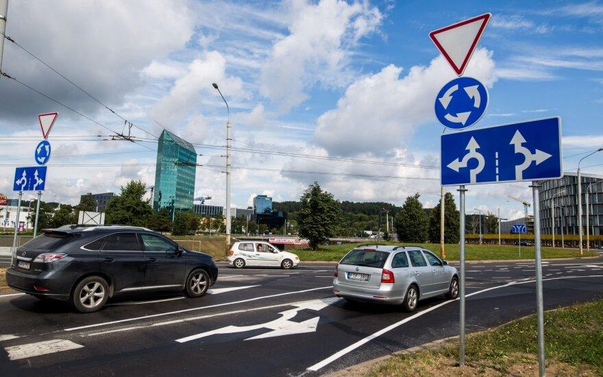 Головная боль вильнюсцев скоро закончится: на проспект Конституции можно будет выехать, минуя кольцо