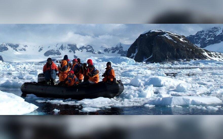 Первая литовская экспедиция отметит в Антарктиде 11 марта