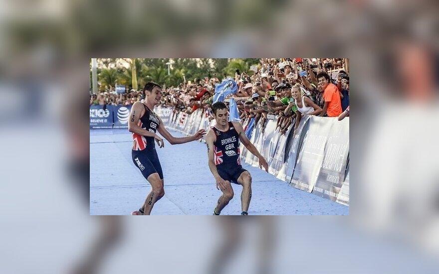 Брат за брата в драматической развязке финала Мировой серии по триатлону