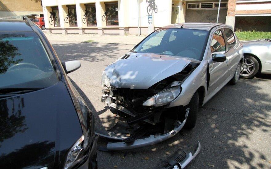 Водители не поделили парковку, произошло ДТП