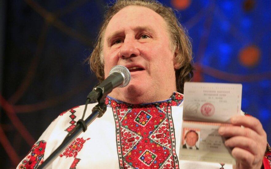 G.Depardieu Rusijoje