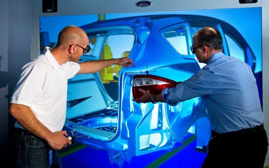 Virtuali Ford gamykla