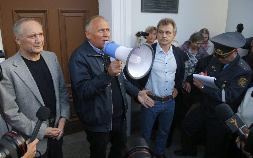 Белорусских оппозиционеров оштрафовали за пикет