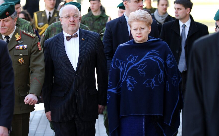 Juozas Olekas ir Dalia Grybauskaitė