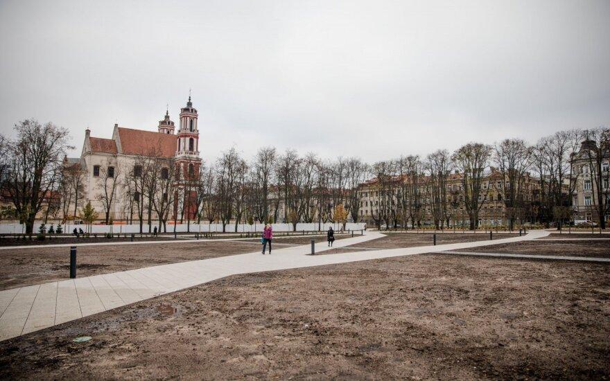 Минкульт предлагает не одобрять предложение об установке Витиса на Лукишкской площади