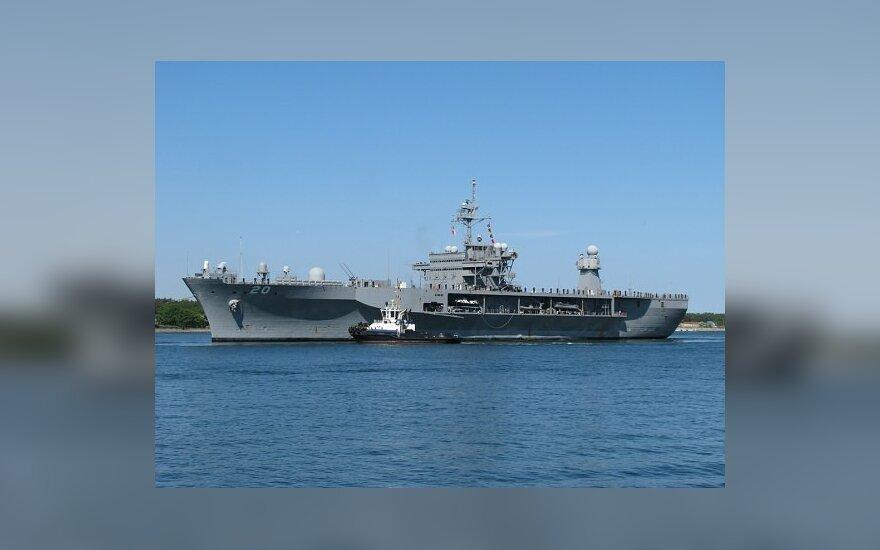 В Клайпедском порту ждут военный корабль США