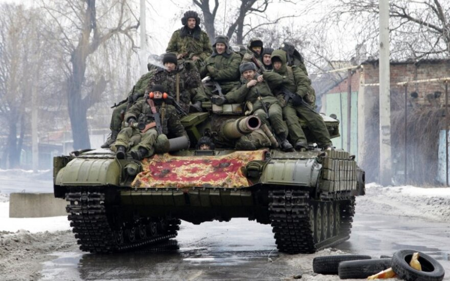 Prorusiški separatistai Donecke