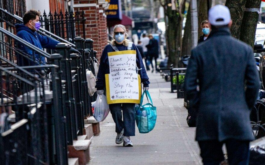 Число безработных в США за неделю выросло на 4,4 миллиона человек