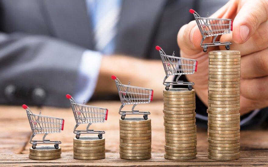 Евростат: годовая инфляция в Литве в июле – самая высокая в странах Балтии