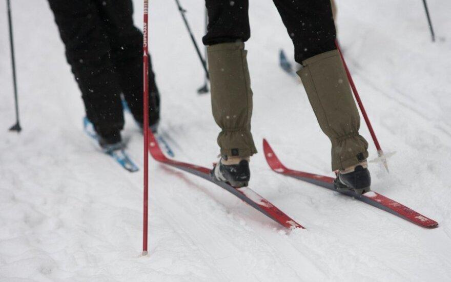 Полиция Польши ищет лыжника, прицепившегося к электричке и разогнавшегося до 80 км/ч