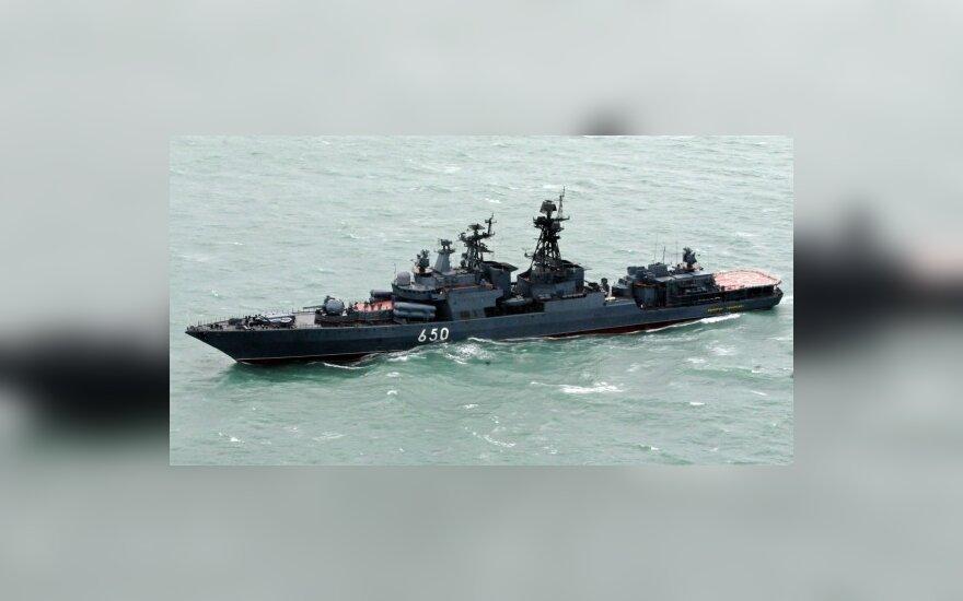 Российские корабли начинают патрулировать воды Сомали