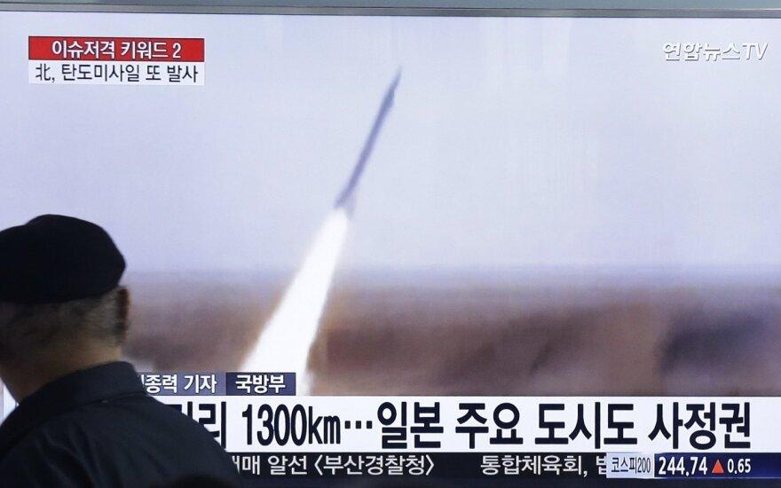 Северная Корея запустила баллистические ракеты