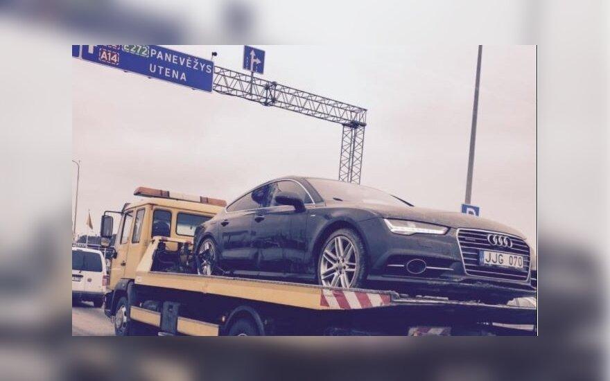 В Вильнюс доставили автомобиль пропавшей девушки, его вид заставил задуматься