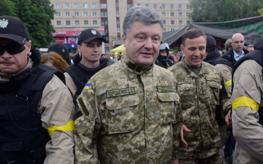 Poroszenko i Tusk omówili utworzenie wspólnej brygady bojowej