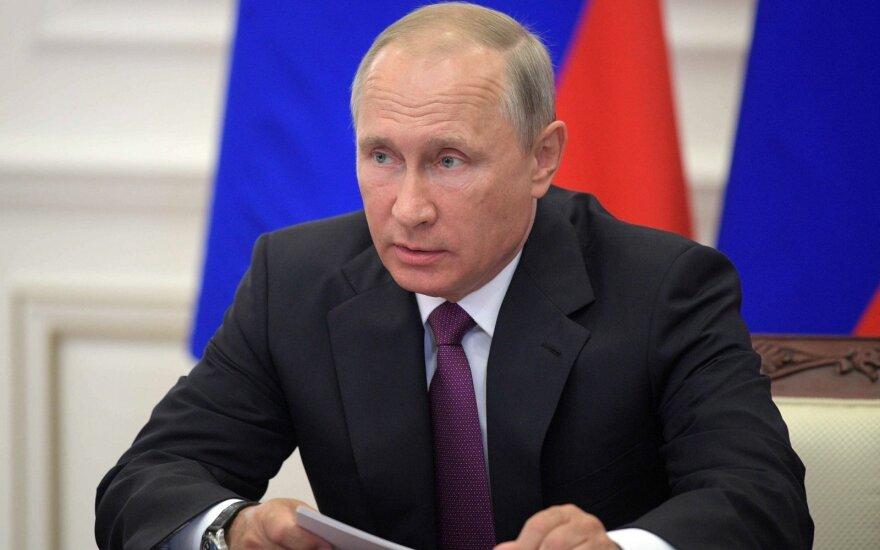 """Путин посетил московский офис компании """"Яндекс"""""""