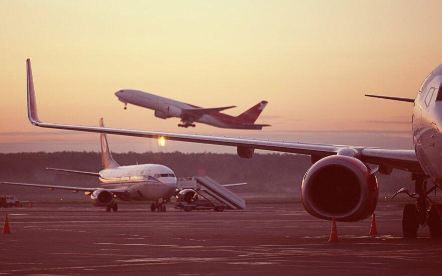 В июле в аэропорты Литвы возвращаются 70 направлений полетов