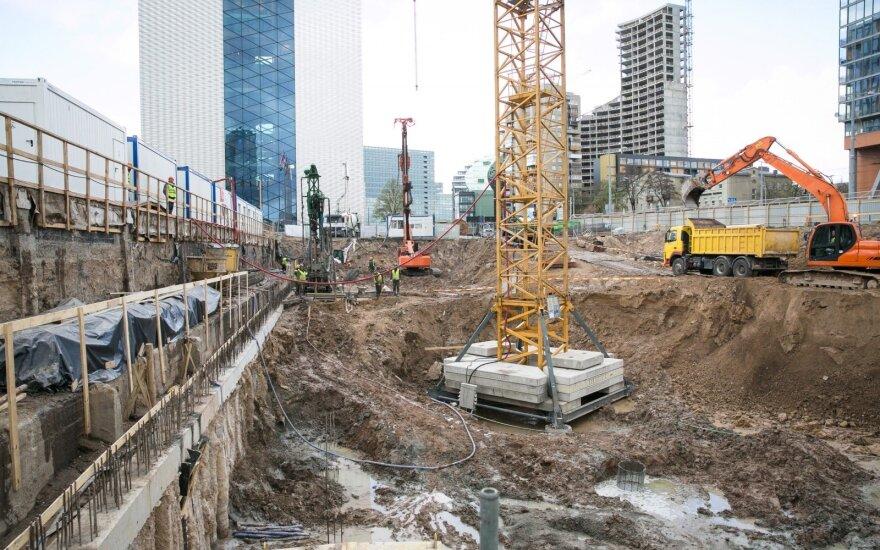 В Вильнюсе началось грандиозное строительство