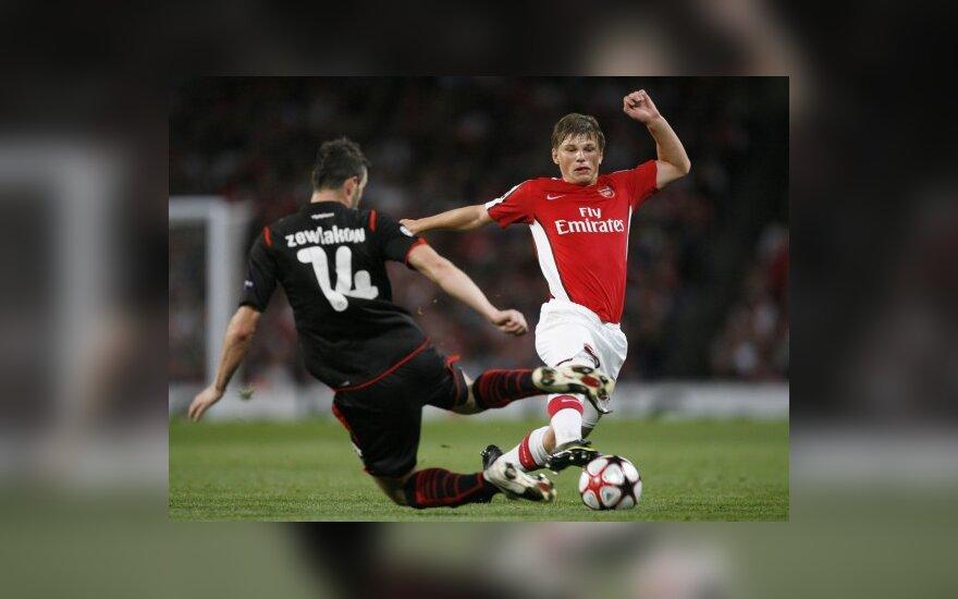 """Andrejus Aršavinas (""""Arsenal"""")"""