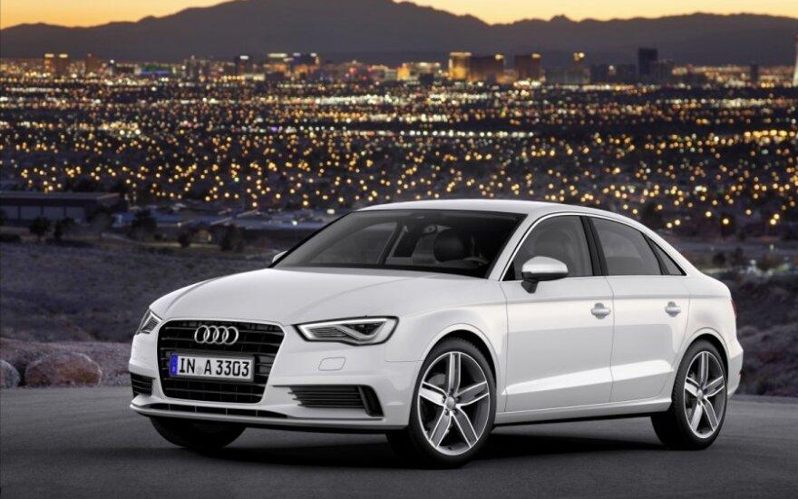 Audi представила доступный седан A3
