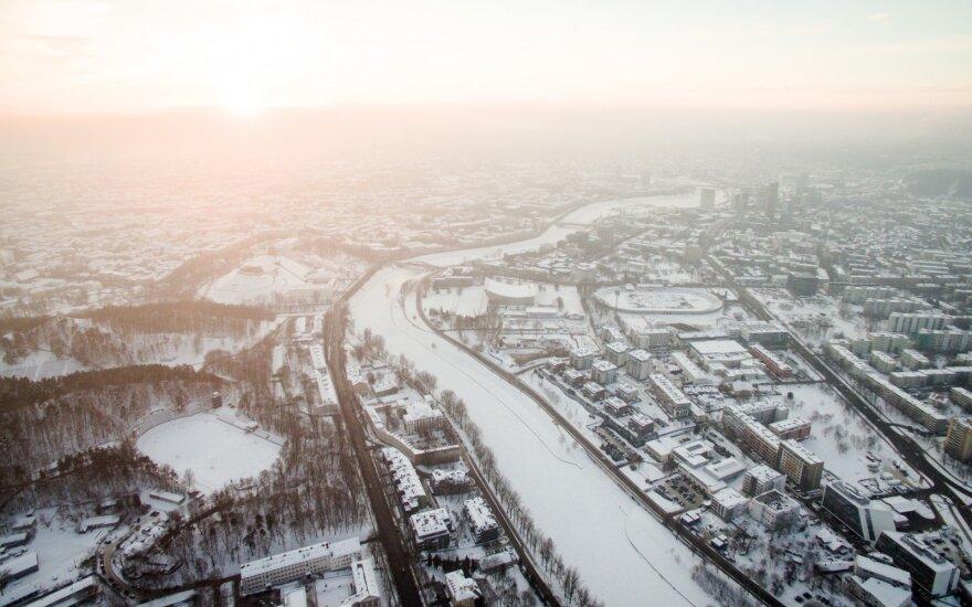 В литовской столице по случаю 11 марта будет ограничено движение транспорта