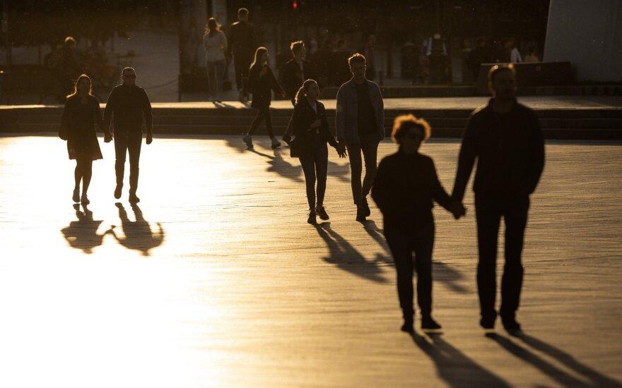 Google: коронавирус не оказывает большого влияния на мобильность людей в Литве