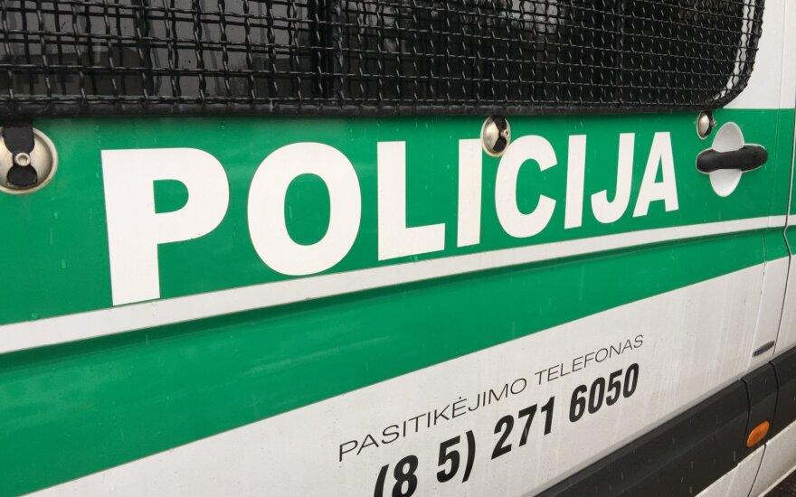 В Кретинге в ДТП попал автомобиль Генконсульства РФ в Клайпеде