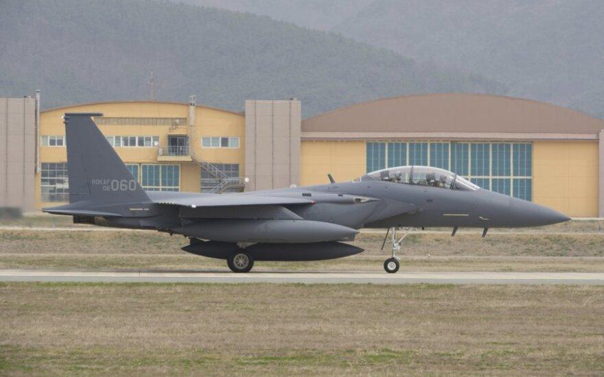 JAV naikintuvas F-15