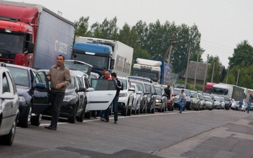 Очереди на границе со стороны Беларуси выросли в четыре раза