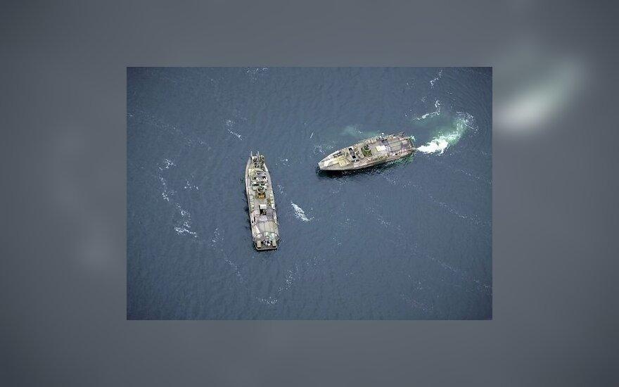 Корабль ВМС РФ вторгся в исключительную экономическую зону Латвии
