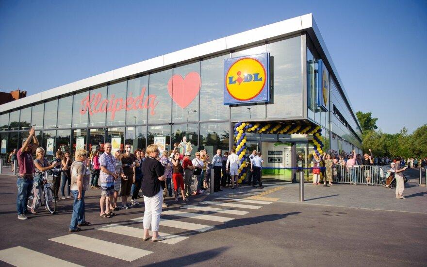 LIDL parduotuvių atidarymas