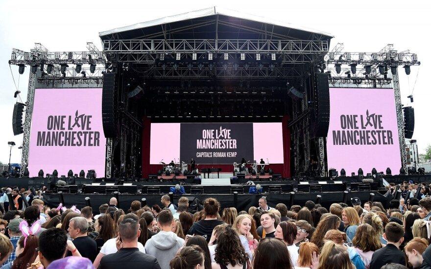 Концерт солидарности в Манчестере собрал 13 млн долларов