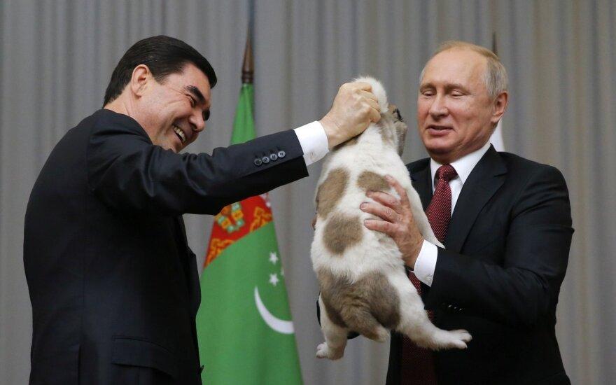 Президент Туркмении пополнил зоопарк Владимира Путина