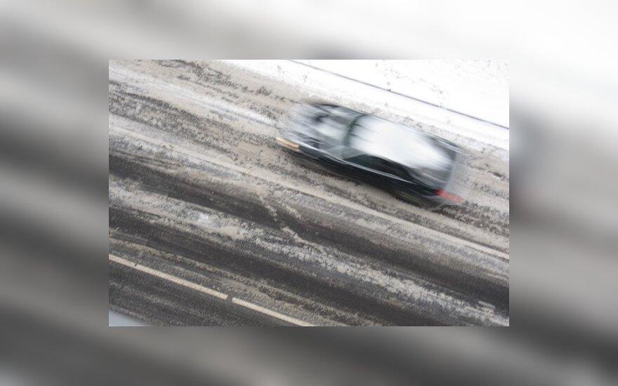 Условия на дорогах сложные