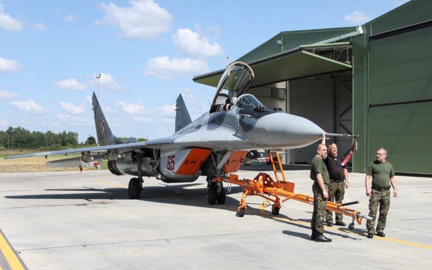 Венгрия вновь будет осуществлять миссию воздушного патрулирования в Литве в 2022 году