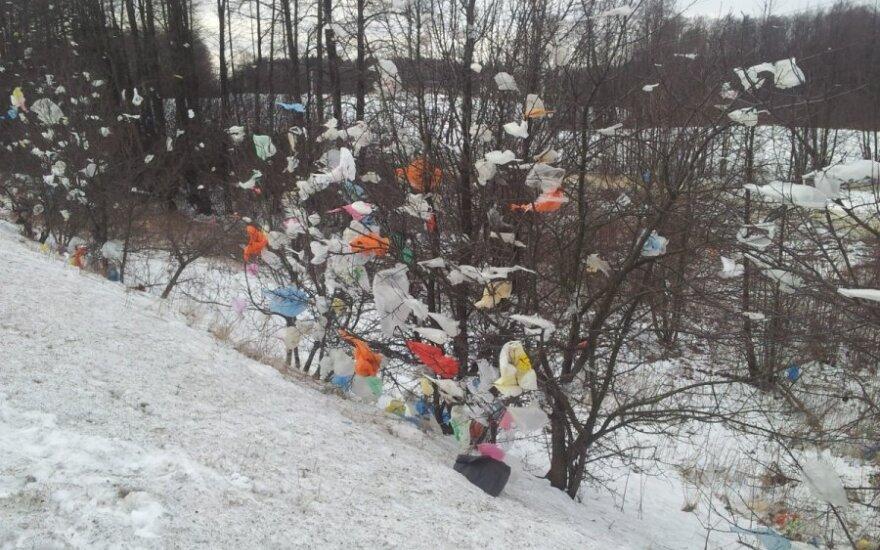 Plastikiniai maišeliai Alytaus rajone
