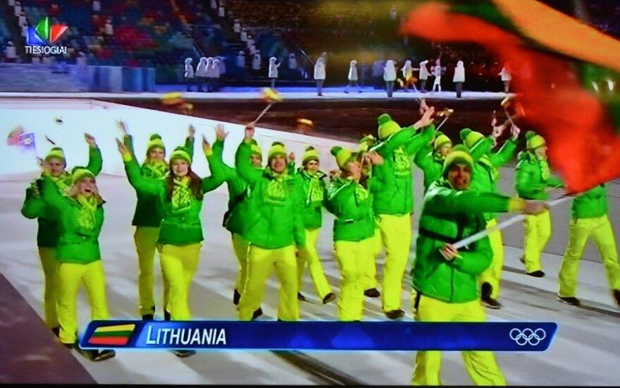 Литовские олимпийские костюмы - одни из самых стильных в Сочи
