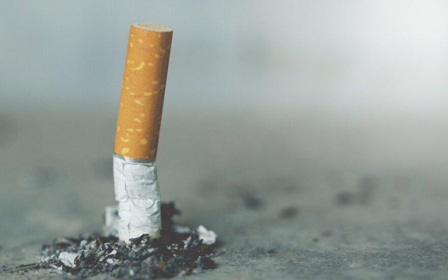 В Мядининкай задержана партия контрафактных сигарет стоимостью 1,5 млн евро